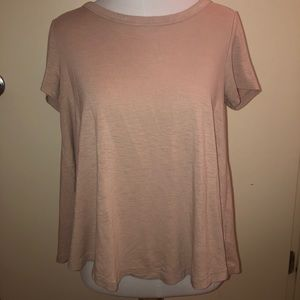 American Eagle soft and sexy loose blush t-shirt.